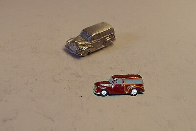P&D Marsh N Gauge n Scale E73 Morris Minor Traveller car requires painting