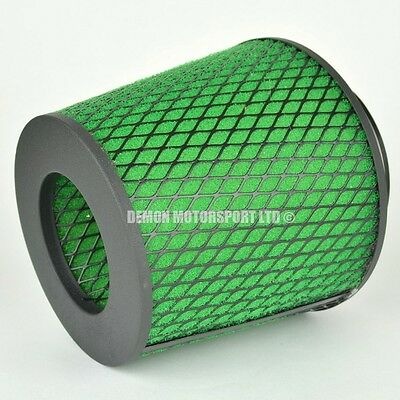 CLEARANCE Air Filter Green For Induction Kit 80mm or Choose Inlet Size (35935)