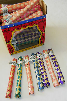 New 6 Chinese Finger Traps Party Loot Bag Filler Joke Gag Trick Hb