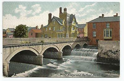 irish postcard ireland sligo belfast bank