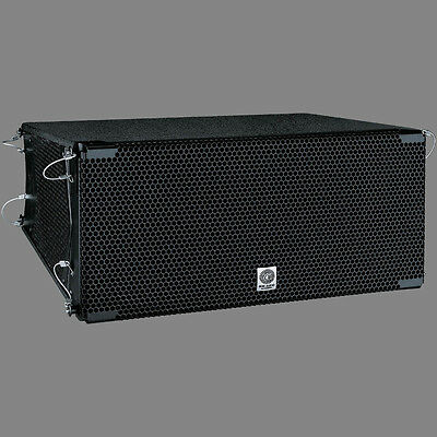 2x AS308 line array speakers + case NEW