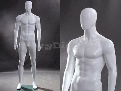 Fiberglass Male Egg Head Male Mannequin Dress Form Display #MZ-WEN4EG