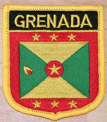Grenada Country Flag Embroidered Patch T4
