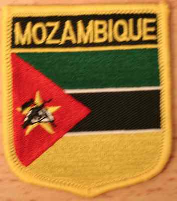 EAST TIMOR Asia Shield Country Flag Embroidered PATCH Badge P1