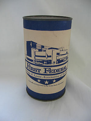 Vintage Coin Bank - FIRST FEDERAL Savings and Loan Association of St. Paul MN