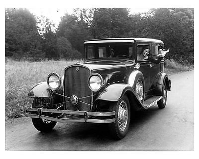 1931 Hudson Touring Sedan Factory Photo ca1636