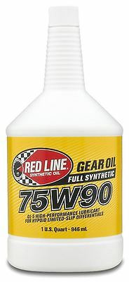 Red Line 75W90 Differential GL-5 Gearbox Oil Fluid US QUART 946ml, BMW, Ford