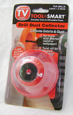NEW DRILL DUST COLLECTOR ATTACHMENT DEBRIS FITS MOST DRILLS DIAMETER 4-10mm PMS