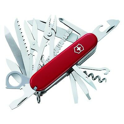 Victorinox 53501 Red Swiss Army SwissChamp Multi Knife, 38 Tool