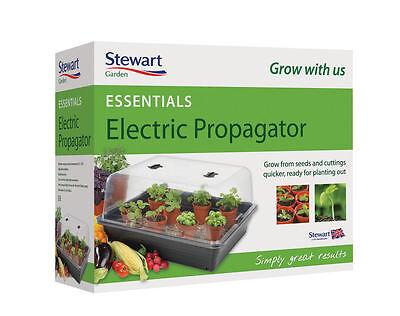 Stewart Essentials Electric Heated Plant Seed Propagator - Large 52cm