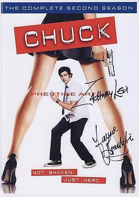 CHUCK SIGNED  MOVIE POSTER REPRINT
