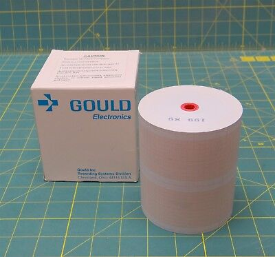 Chart Paper For Gould 220 Chart Recorder P/N 11-2925-30  2-Channel / 275-Feet