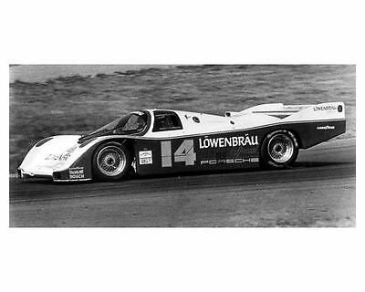 1986 Porsche 962 Lowenbrau Race Car IMSA Photo Poster Al Holbert zca1277