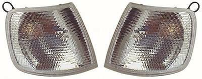 Ford Sierra Mk2 1990-1993 Clear Front Indicator Lights 1 Pair O/S & N/S