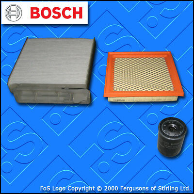 SERVICE KIT for NISSAN NOTE 1.4 PETROL E11 MEHR OIL AIR CABIN FILTER (2006-2014)