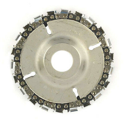 "EZ Install 22 Tooth 4""  Fine Cut Grinder Disc and Chain - 7/8"" Arbor  SS478"