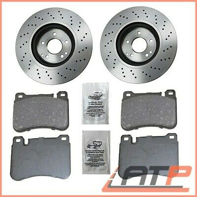 Brake Discs Ventilated Ø330 + Set Pads Front Mercedes Benz S-Class W220 S320-500