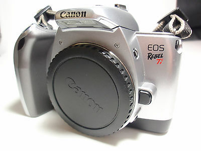 "Canon EOS Rebel Ti 35mm SLR Film Camera Body Only "" Fully Film Tested """