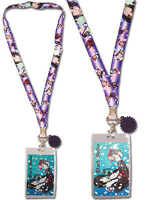 Black Butler Celebration Confetti Lanyard ID Holder Keychain anime GE-37587