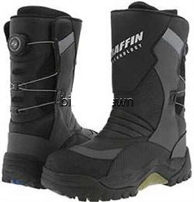 New Mens Size 12 Baffin Pivot BOA Snowmobile Winter Snow Boots Rated -94 F
