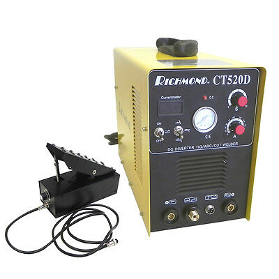 RICHMOND 3in1 200A TIG STICK WELDER 50A PLASMA CUTTER 110V/240V WITH FOOT PEDAL