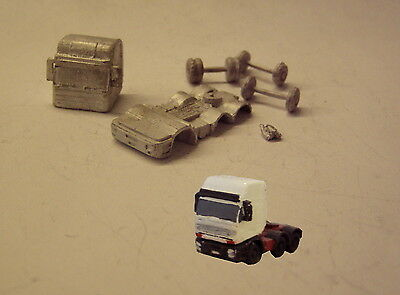 P&D Marsh N Gauge n Scale MV111 Iveco Eurostar Hi Cab 2+6 kit requires painting
