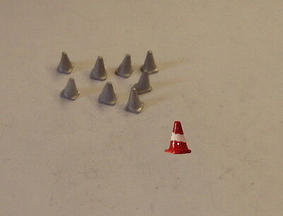 P&D Marsh N Gauge n Scale C32 Large road cones (8) castings require painting
