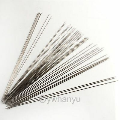 60x Beading Needles Fit Jewellery Makings 100mm NEW