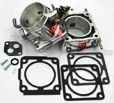 1986-1993 Mustang 5.0 70mm 70 mm Show Polished POWER Throttle Body & EGR Spacer