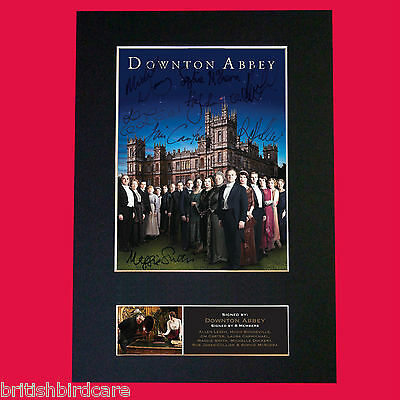 DOWNTON ABBEY Quality Signed Autograph Mounted Repro A4 Print 515