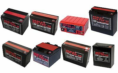 Varley Red Top Battery - Race/Racing/Oval/Rally/Motorsport/Dry Cell/Lightweight