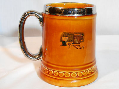 Lord Nelson Pottery England Brew Beer Drinking Mug
