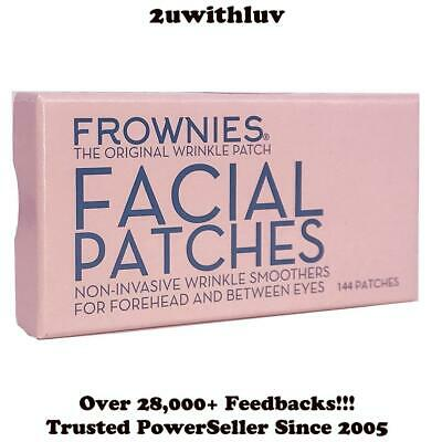 Frownies 144 Facial Patches For Wrinkles On Forehead & Between Eyes - New Pkg!