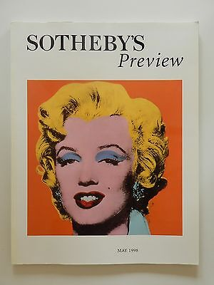 Sotheby's preview 1998 London Englisch