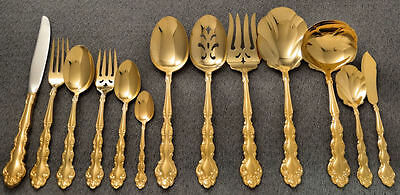 Oneida Community GOLD BEETHOVEN Golden Silverware Flatware Pieces YOUR CHOICE!