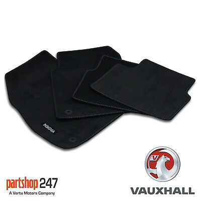 Genuine Vauxhall Insignia 2009 on Velour Front & Rear Carpet Mat Set Of 4