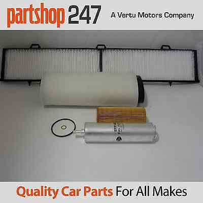 Bmw  3 Series E90 E91 318D 320D Service Kit Oil Air Fuel Cabin Filters 2005-2007