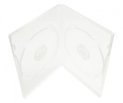 100 STANDARD Super Clear Double DVD Cases