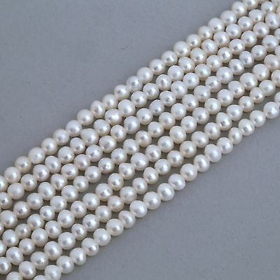 2.8-3mm Ivory White Seed Potato Small Tiny Freshwater Pearls Beads A