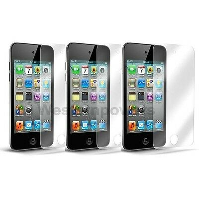 3x Clear LCD Screen Protector Cover Film for Apple iPod Touch 4 4G 4th Gen USA