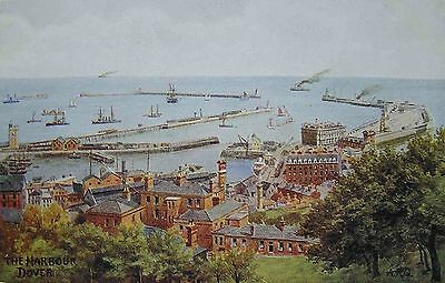 Dover (X) published by Salmon Ltd. Sevenoaks, uncirculated British post card