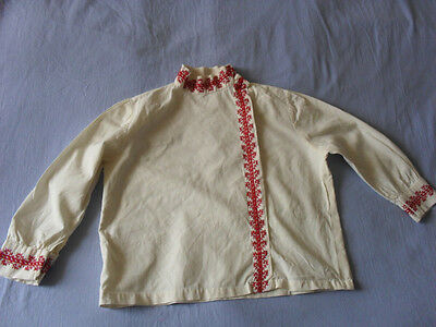 Lovely Vintage Hand-Embroidered Child's Shirt