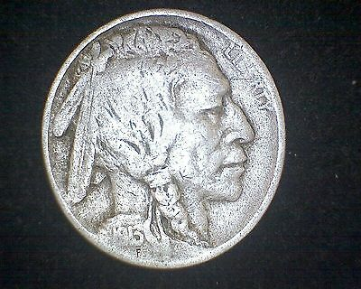 1913 INDIAN HEAD BUFFALO NICKEL TYPE 1 #9957
