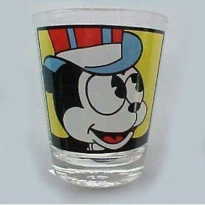 Betty Boop's Dog Bimbo Glass Shot Glass  RARE !!!