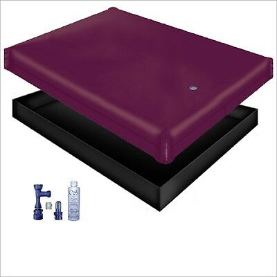 Free Flow Waterbed Mattress / Liner / Fill Drain / Conditioner Kit