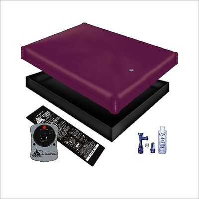 Free Flow Waterbed Mattress / Liner / Heater / Fill Drain Conditioner Kit
