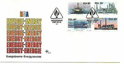 South Africa 1989 Fdc Energy