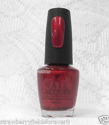 OPI Nail Polish Color An Affair in Red Square R53 .5oz/15mL