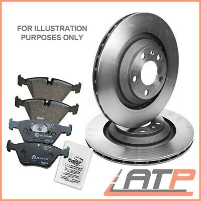 Brake Discs + Brake Pads Rear Ventilated Ø292 Nissan X Trail T30 T31 From 2001