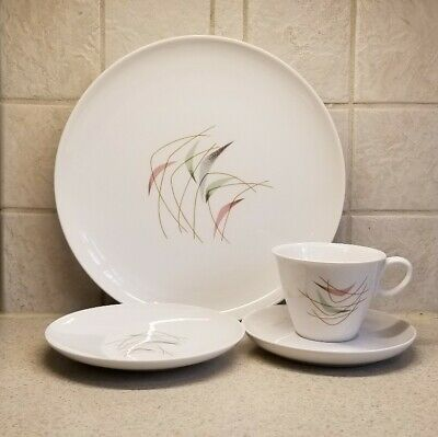 FRANCISCAN CHINA SWING TIME 4 PIECE SETTING